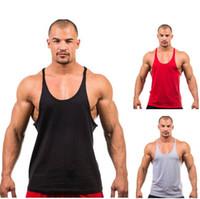 Wholesale 2015 Fitness Men s Tank Top Singlet Bodybuilding Stringers Undershirt Clothes Golds Gym Vest Muscle Shirt Regata Masculina DHL free