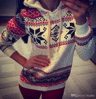 Wholesale Hoodies for women Womens Casaul Gril Long Sleeve T Shirt Knitted Tops Blouse Sweaters Sweatershirt Jumpers Pullover