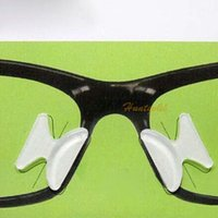Wholesale 2Pair Eyeglass Sunglass Glasses Anti Slip Silicone Stick On Nose Pad Support Kit