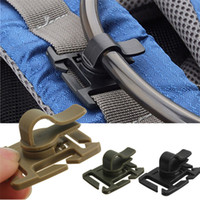 best webbing - High Quality Best Price Rotatable Molle Hydration Bladder Drinking Tube Trap Hose Webbing Clip order lt no track