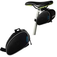 Wholesale Roswheel A Cycling Mountain Road MTB Bike Saddle Bag Bicycle Seatpost Rear Tail Package Black H10742