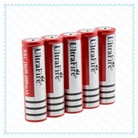 Wholesale High quality Ultrafire mah Rechargeable lithium Li ion E cig Ultrafire Battery mAh V Rechargeable Battery