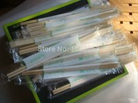bamboo disposable cutlery - Pairs Bamboo Chopsticks Disposable Cutlery Party Takeaway Environmental Barbecue