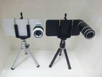 digital telescope - for iPhone iphone s X Optical Zoom PC Lens degree with Mini Tripod Case Kit Cell phone telescope Digital Camera