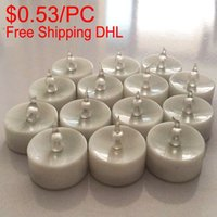 Wholesale 360PCS Mini Tealight Candles LED Ocean Home Decor Batteried Candles Yellow Flickering Light Night Decorations Party Gifts