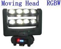 Wholesale LED effect light DJ stage light Led spider moving head beam light W RGBW spider Led disco light DMX part spider stage light