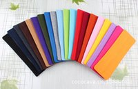 Wholesale Candy Color Vogue Women Yoga Sport Headband Simple Hairband Elastic cm Elastic Headband Sports Yoga Accessory headbands
