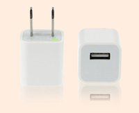 Wholesale Colorful USB chargers US Plug Wall Home Travel Charger Adapter For iPhone Plus S S Smartphone