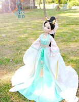 ancient chinese dolls - Drop shipping cm tall Authentic Chloe doll b ancient Chinese kurhn doll myth dragon lady fairy joint body send shoes