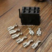 Wholesale 8X Female Spade Terminals Dash Rocker Switch ARB Socket Plugs Carling Style