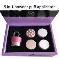 auto power beauty - 10Pcs Electric D Auto Cosmetic Sponge Face Beauty Makeup Vibration Foundation Power Puff Applicator