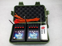 Wholesale 4 Channel remote controlls Fireworks Firing system New style use Wireless Switch Radio fire Waist type remote fireworks display