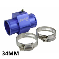 Wholesale Racing DEFI mm Blue Water Temp Temperature Gauge Sensor Mounting Radiator Hose Adapter