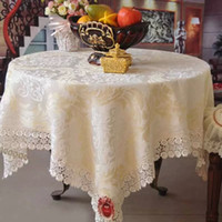 bedside cabinets black - Mercure warriors European jacquard table cloth tablecloths bedside cabinet hood large round table