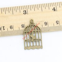 antique bird cages - 15pcs Antique Bronze Plated Vintage Bird Cage Charms Pendants for Jewelry Making DIY Handmade Craft x16mm Jewelry making DIY