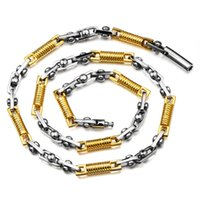 14k gold chains - gold chains for men With gold chain filled stainless steel high quality hip hop jewelry necklaces hiphop necklace hip hop jewelry N00130