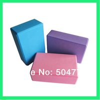 Wholesale Home Exercise Practice Yoga Block Brick Gym Sports Assistant Tool for Shape Finger
