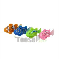 Wholesale Original fish Robofish Electric Toys Electronic Pet Toys Creative Baby toys Battery Powered Electric Pet Fish with retail package
