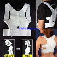 Cheap Back Body Support Corrector Best   Support Shoulder Brace Belt