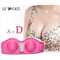 Wholesale Vibrating breast lift Bra electric breast enhancement machine breast care Massager