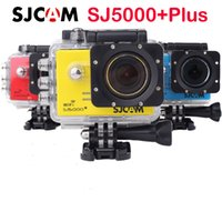 Wholesale Original SJCAM SJ5000 Plus WiFi Action HD Camera Ambarella A7LS75 Waterproof Sports Camera helmet HD car dvr video camera Gopro Hero4 style