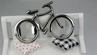 Cheap 200PCS Cute Fashionable Bike Bicycle Metal Beer Bottle Opener keychain key rings for bike lover biker Creative Gift for cycling 0915#15