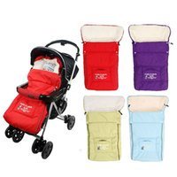 Wholesale 2016 Hot Sale Baby Stroller Sleeping Bags Baby Sleep sacks for Stroller Cart Basket Infant multifunction Cotton Thick for Winter