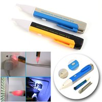 Wholesale Led Electric Voltage Tester Detector Sensor Pen Alert Stick Volt Sensor V without battery ZH079