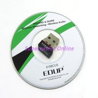 Wholesale EDUP EP N8508 NANO USB Wireless Network Card LAN WIFI Adapter IEEE802 n GHz Mbps For Win7 MAC LINUX