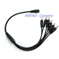Wholesale 2PCS Power Splitter Adaptor Cable Female to Male to way Power Splitter Adapter Cable for CCTV Security Cameras