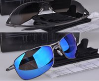 alloy sport bicycle - Men s Fashion Metal Glasses Sunglasses Polarized Mirror Sunglasses Outdoor Sports Bicycle sunglass