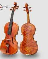 Wholesale Tianyin Brand Handmade High Quality Tiger strips Violin Student Violin