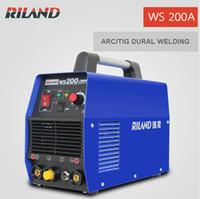 Wholesale Riland Welder TIG200A ARC TIG Dural Purpose Household TIG Welding Machine WS200A Portable Small Size DC Inverter TIG Welder