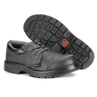 steel toe cap - Match fixing shoes work shoes steel toe caps for fall winter sites shoes men and welded leather safety shoes women smash proof puncture