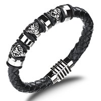 best links available - 19 cm And cm Size Available Black Leather Bracelet High Quality Punk Bracelet Fine Jewelry Calavera Best Friend Bracelet
