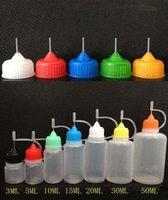 Wholesale 2500pcs Needle Dropper bottle ml ml ml ml ml ml ml Plastic Empty bottle electronic cigarette liquid in bottles