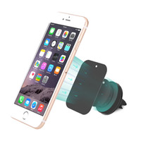 auto cell phone mounts - Magnets Brackets Auto Magnetic Car Holder Universal Car Air Vent Holder Outlet Mount For iPhone Samsung Cell Phone Mounts Holders