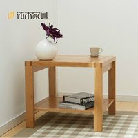 Wholesale Solid wood tea table oak tea table small square table side table Nordic simple household furniture