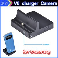 Wholesale Multi Function V8 SPY cam SPY charger cameras SPY camera with Remote Control Motion Detection android charge for Samsung