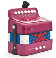accordions - Multi color Child Accordion Kid s Musical Toy Musical Instrument For Children New and Hot Selling