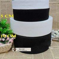 Wholesale 5cm cm Black and White Crochet Elastic Strap DIY aAccessories Material Latex Silk Elastic Wide