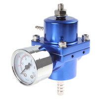 Wholesale Universal Car Adjustable PSI Fuel Pressure Regulator with Gauge CEC_507