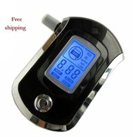 alcohol tester - New Digital LCD Alcohol Breath Analyzer Detector Tester Breathalyzer Breathalyser Free Shopping Wholesales