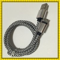 Wholesale 1M ft Mix Color snake pattern Braided Fabric Micro USB2 Cord Data Sync Charger Cable For Android Smart phone