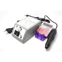 Wholesale Professional Manicure Pedicure Set Electric Nail Drill Manicure Machine with Drill Bits EU US Plug