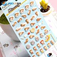 Wholesale Pack New Korea FUNNY Series Foam Sticker Set Kawaii Monkey King