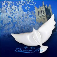 Wholesale 2016 wholesales low price Dove shape balloon friendly pigeon peace dove balloon used for wedding Party children toy