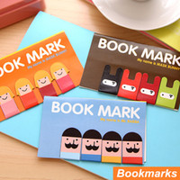 Wholesale 24 in set Magnet bookmarks Make funny books marker Magnetic page holder marcador de livro materials School supplies