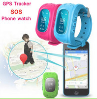 apple communications - New GPS Kids Tracker Watch SOS Emergency Anti Lost Smart Mobile Phone App Bracelet Wristband Two Way Communication GPSs Navigation