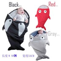 Wholesale Kids shark Sleeping Bags Winter Warm Multifunctional sleeping bags Shark baby sleeping bag Baby warm embrace is sleeping bags